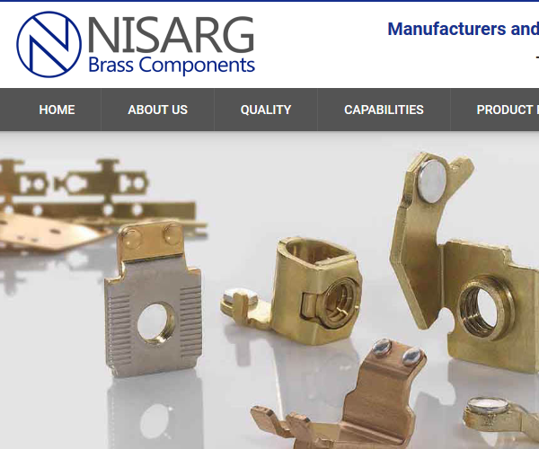 Nisarg brass components
